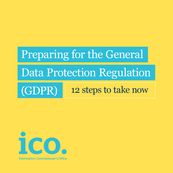 Preparing for the General Data Protection Regulation (GDPR) 12 steps to take now - ico.