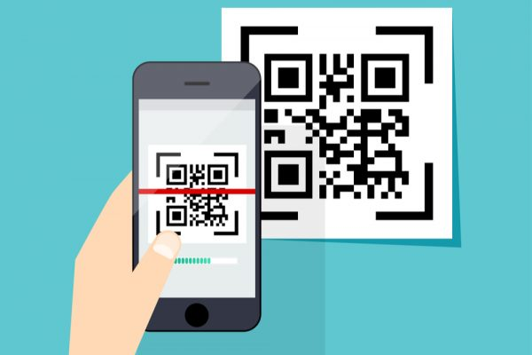 QR code for charity donations to The Big Issue