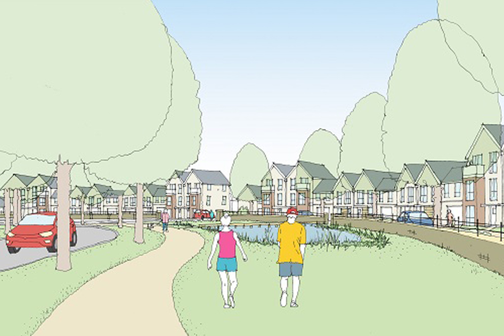 Bovis Homes and Metropolitan Thames Valley Housing will deliver properties at Cambourne West, near Cambridge