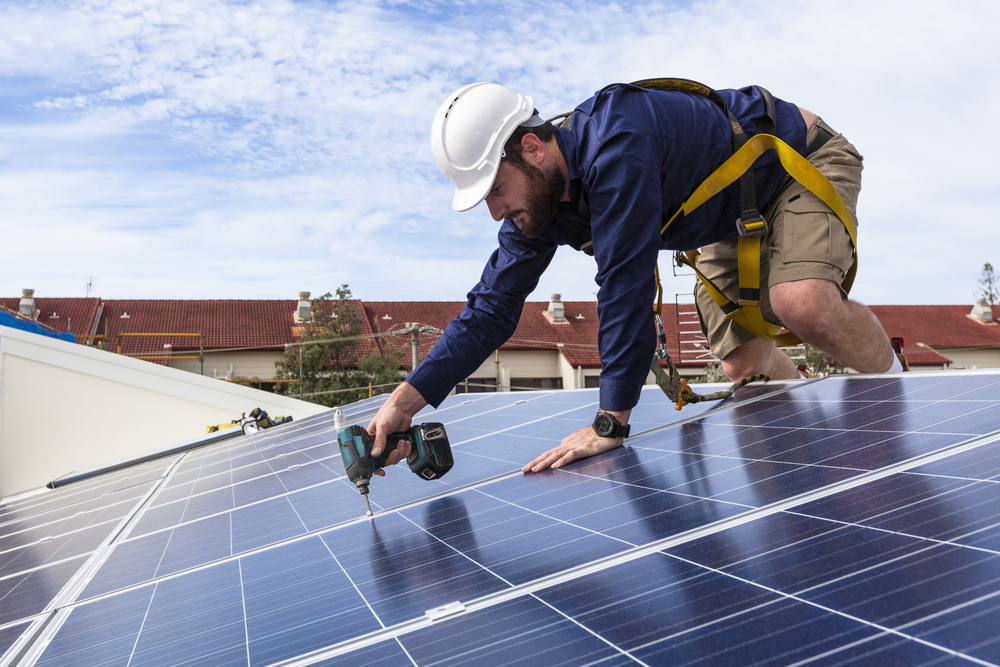 Solar panels investment for affordable homes