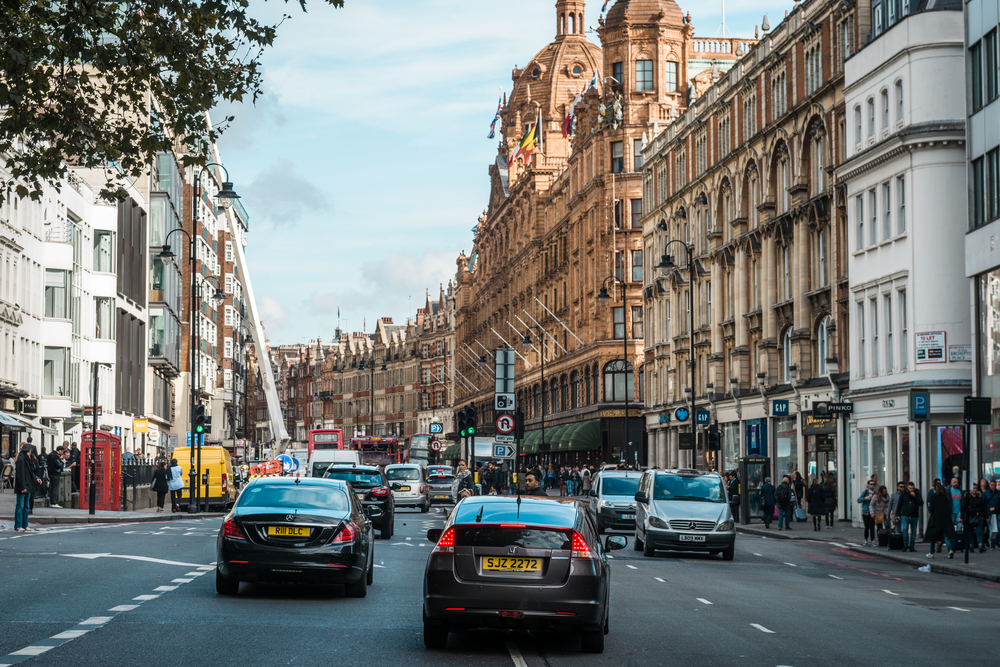 New emission charge in central London for older cars