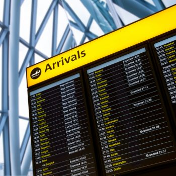 Decline in UK visitor numbers
