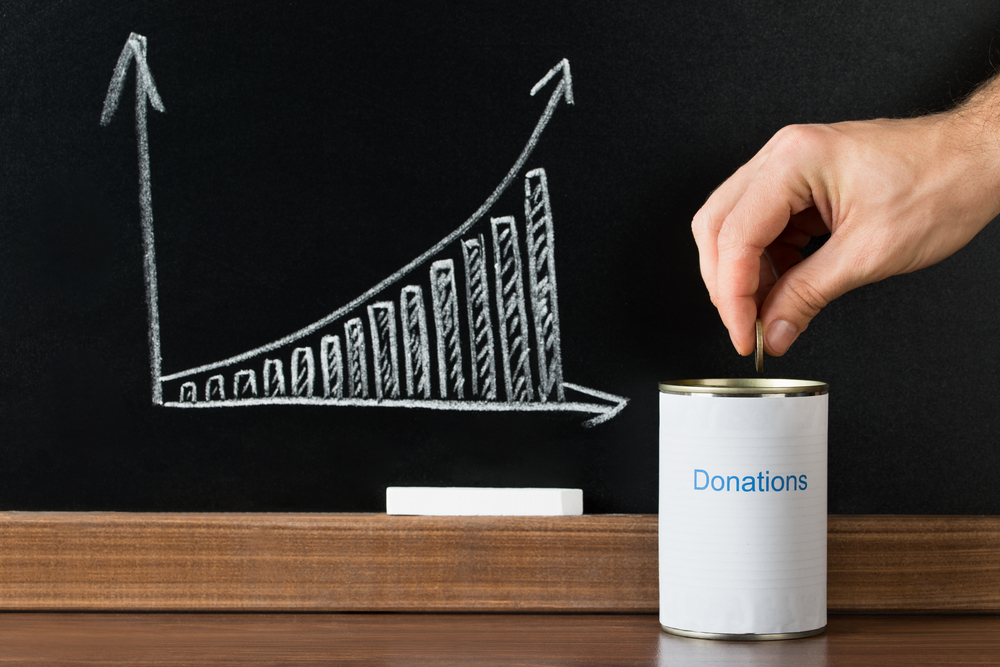 loose change donation vital for charities