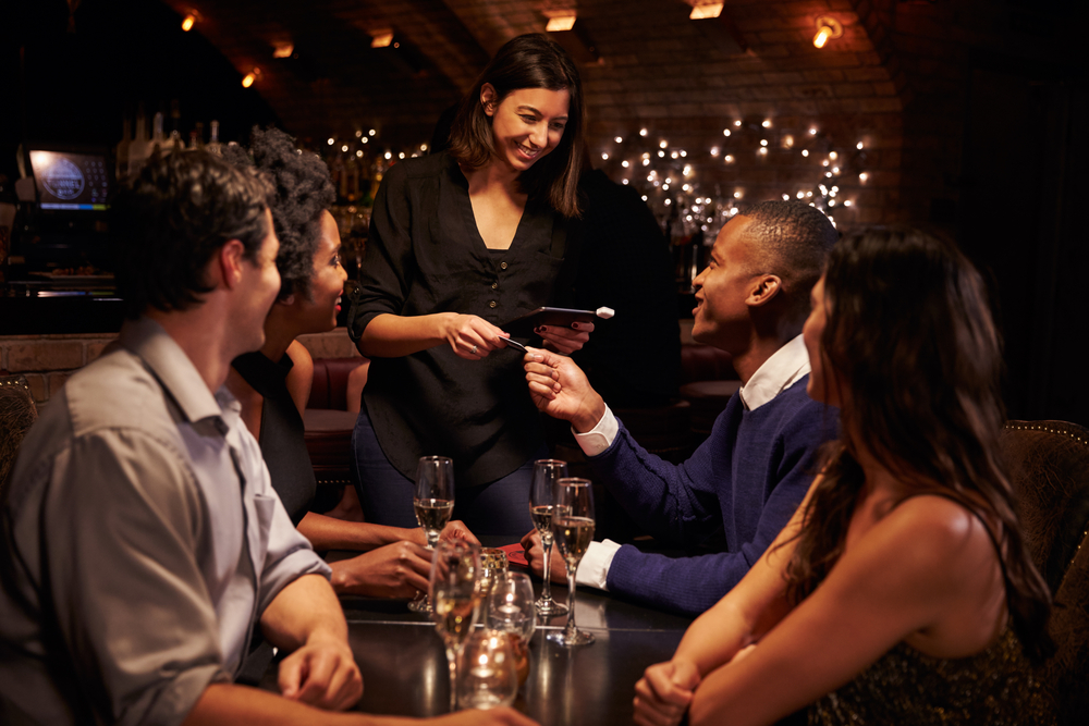 speeding up the paying process at restaurants and bars