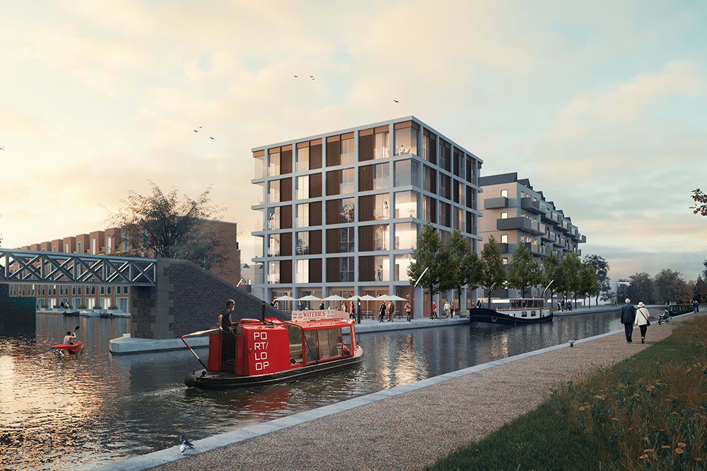 Icknield Port Loop scheme will provide a mix of 77 modular, factory built and traditionally constructed homes