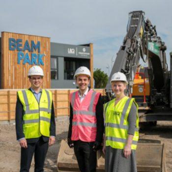 Construction begins at Beam Park regeneration scheme in East London