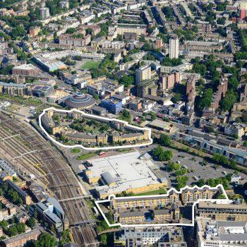 Juniper Crescent and Gilbeys Yard in Camden for regeneration