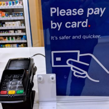 Card transactions make up 81% of payments in 2020