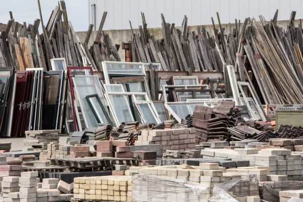 Reduce construction waste by redirecting to other contractors and suppliers